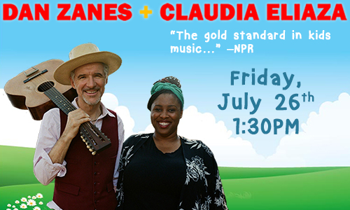 Dan Zanes and Claudia Eliaza          Kids' Concert