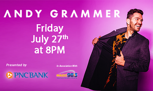 Andy Grammer Presented by PNC Bank