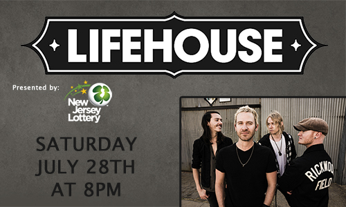 Lifehouse Presented by the New Jersey Lottery