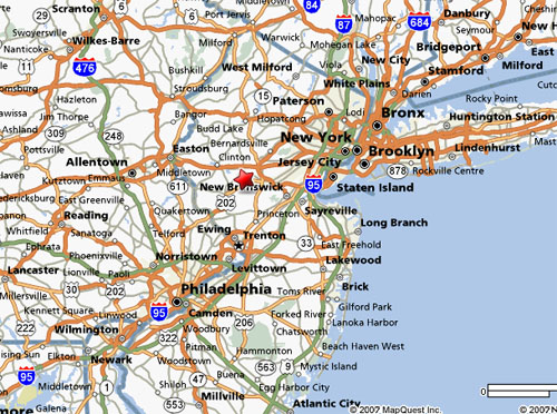 Detailed New Jersey Map Submited Images  Pic2Fly