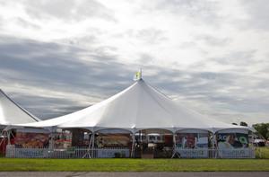 HOSPITALITY TENT & balloonfestival.com: QuickChek Hospitality Tent